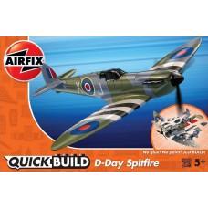 Airfix QUICKBUILD D-Day Spitfire Plastic Model Kit