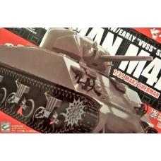 Asuka 1:35 Sherman M4A2 DV Plastic Model Kit