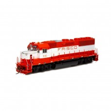 Athearn HO GP50 Frisco/Orange & White #3100