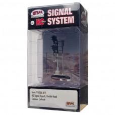 Atlas HO Scale Double-Head Type G Signal 70000077