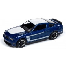Auto World 1/64 2012 Ford Boss Mustang Diecast Car