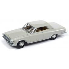 Auto World 1/64 1963 Dodge Polara 500 Ivory Diecast Car