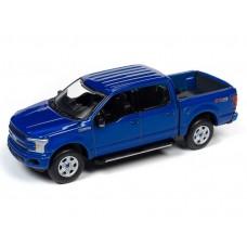 Auto World 1/64 2018 Ford F-150 Lightning Blue Die-Cast