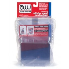 Auto World 1:64 Scale Blister Card Protectors