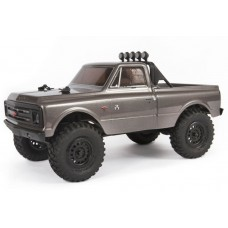 Axial SCX24 1/24 1967 Chevy C10 4wd RTR Truck Silver