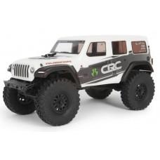 Axial SCX24 1/24 2019 Jeep Wrangler JLU CRC 4wd RTR White