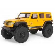 Axial SCX24 1/24 2019 Jeep Wrangler JLU CRC 4wd RTR Yellow