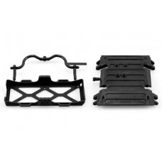 Axial Wraith Tube Frame Skid Plate Battery Tray