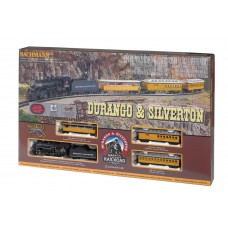 Bachmann HO Scale Durango & Silverton Electric Train Set
