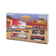 Bachmann HO Scale Canyon Chief Electric Train Set
