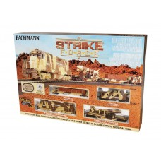 Bachmann HO Scale Strike Force Electric Train Set