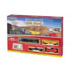 Bachmann HO Scale Echo Valley Express w/EZ Command Sound Train Set