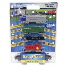 Bachmann HO Scale Battery Operated Rail Champ Train Set