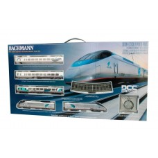 Bachmann HO Scale Acela Set w/DCC Amtrak Train Set