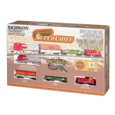 Bachmann Trains N Scale Super Chief Train Set