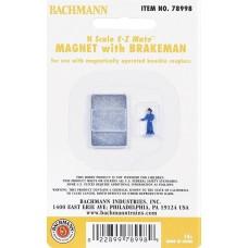 Bachmann N Scale E-Z Mate Magnet w/ Brakeman