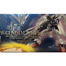 Bandai PG 1:60 W-Gundam Zero Custom Pearl Mirror Coating Ver Plastic Model Kit