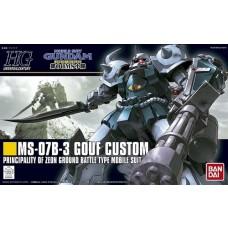 Bandai HG 1:144 MS-07B-3 Gouf Custom Plastic Model Kit
