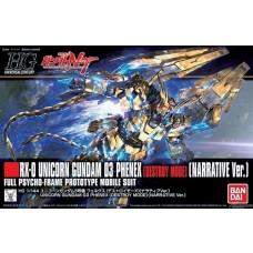 Bandai HG 1:144 Unicorn Gundam 03 Phenex [Narrative] Plastic Model Kit