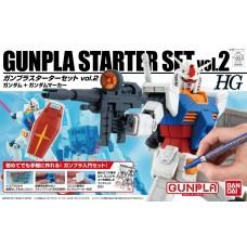 Bandai HG Gunpla Starter Set 2 Plastic Model Kit