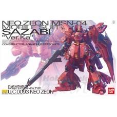 Bandai MG 1:100 MSN-04 Sazabi Ver.Ka Plastic Model Kit