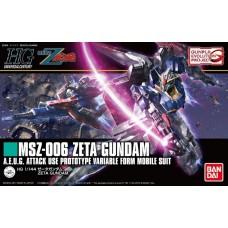 Bandai HG 1:144 Zeta Gundam Plastic Model Kit