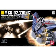Bandai HG 1/144 MSN-02 ZEONG Plastic Model Kit