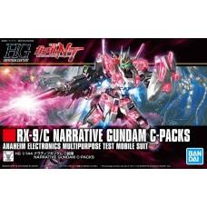 Bandai HG Narrative Gundam C Packs Plastic Model Kit