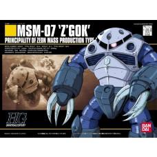 Bandai HG 1:144 Z'Gok Mass Production Type Plastic Model Kit