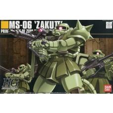 Bandai HG 1:144 Zaku II Mass Production Type Plastic Model Kit