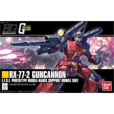 Bandai HG RX-77 Guncannon Plastic Model Kit