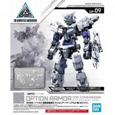 Bandai 30 MM #09 Option Armor For Commander Type Alto (White) Plastic Model Kit