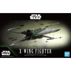 Bandai Star Wars 1:72 X-Wing Fighter The Rise of Skywalker Plastic Model Kit