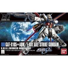 Bandai HG 1:144 Aile Strike Gundam Plastic Model Kit