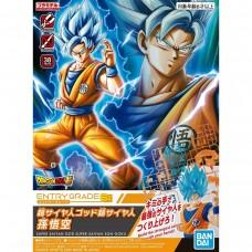Bandai Entry Grade Dragon Ball Super #2 SSGSS Son Goku Plastic Model Kit