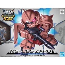 Bandai SDCS #14 MS-06s Zaku II Plastic Model Kit