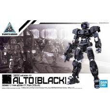 Bandai 30MM 1:144 Alto Black Plastic Model Kit
