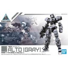 Bandai 30 MM 1/144 #21 eEXM-17 Alto Gray Plastic Model Kit