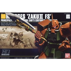 Bandai HG 1:144 MS-06F Zaku II FS Plastic Model Kit