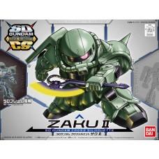 Bandai SDGCS #04 Zaku II Plastic Model Kit
