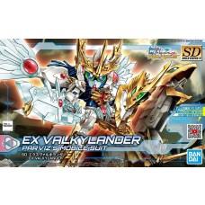 Bandai SD Build Divers #26 EX Valkylander Plastic Model Kit