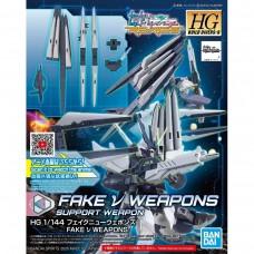 Bandai HG Build Divers 1/144 #30 Fake Nu Weapons Plastic Model Kit