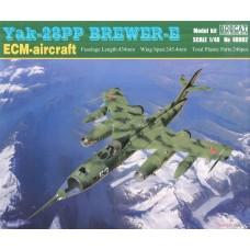 Bobcat 1:48 YAK-28PP Brewer-E Plastic Model Kit