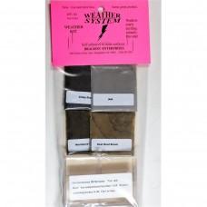 Bragdon 1/2oz 4 Color #2 Weathering Kit
