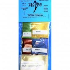 Bragdon 1/2oz 4 Color #3 Weathering Kit