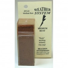 Bragdon 2oz Medium Rust Weathering System