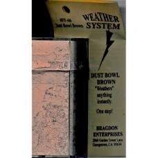 Bragdon 2oz Dust Bowl Brown Weathering System