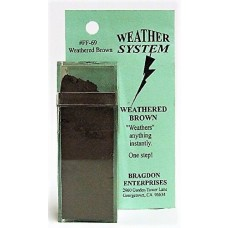 Bragdon 2oz Brown Weathering System