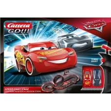 Carrera GO!!! Disney Cars Speed Challenge 1/43 Slot Car Set