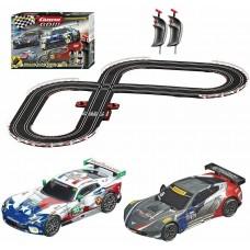 Carrera GO!!! Onto The Podium 1/43 Electric Slot Car Set 62521